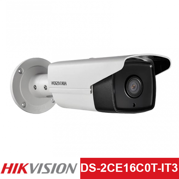 Camera TVI Hikvision 1.0MP | Model: DS-2CE16C0T-IT3
