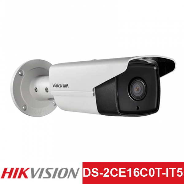 Camera TVI Hikvision 1.0MP | Model: DS-2CE16C0T-IT5