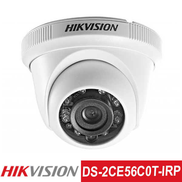 Camera TVI Hikvision 1.0MP | Model: DS-2CE56C0T-IRP
