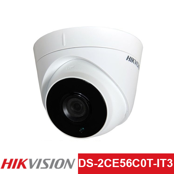 Camera TVI Hikvision 1.0MP | Model: DS-2CE56C0T-IT3