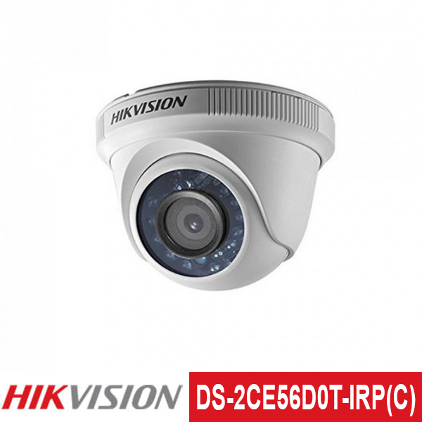 Camera TVI Hikvision 2.0MP | Model: DS-2CE56D0T-IRP(C)